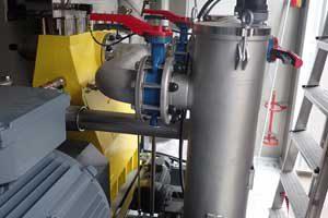 Промышленная насосная станция для перекачки нефти