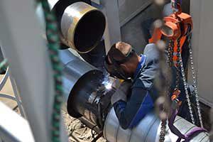 монтаж промышленного оборудования для нефти и газа