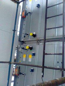 Система охлаждения оборотной воды. Рабочая площадка